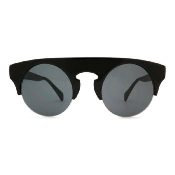 KY-E2335A, Acetate sunglasses, Round glasses, acetate material sunglasses, black sunglasses