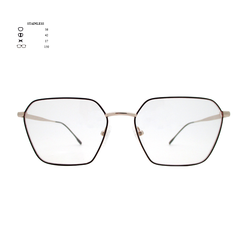 OP-M153,kuo & yang,stainless frame & temple,optical,good for women & men
